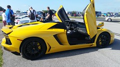 Lamborghini Aventador (Michel Curi) Tags: tampa tampabay davisisland fl florida lovefl dupontregistry carsandcoffee peterknightairport yellow lamborghini aventador cars auto automobile coches vehculos vehicle automvil carros car voiture automobiel transportation transport exotics