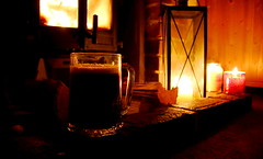 It's that time of year again (Simon Taylor Local Photographic) Tags: beer candles fire fireside hearth dark light