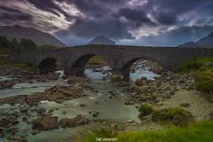 Sligachan Old Bridge (cd photography2015) Tags: sligachan old bridge alte brcke wasser water scotland schottland isle skye clouds wolken ufer canon eos 6d