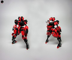 Spark-ReFrame (FEDOKBAK) Tags: lego moc mech mecha robot reframe