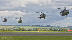 quad Merlin (benji1867) Tags: aw101 eh101 merlin agusta westland agustawestland vl rnas yeovilton hms seahawk royal naval air station airshow show airday avgeek avporn aviation fly flight helo chopper helicopter copter hughes ah64 apache army corps aac ugly canon 7d2