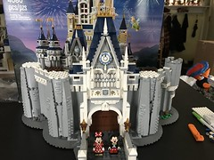 Step Eight Complete (kmb733) Tags: disney cinderellacastle lego mickey minnie