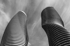 Twisted Sisters (SONICGREGU) Tags: mississauga ontario absolutecondos twistedsisters canada
