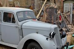 2016-09-17: Damaged Car (psyxjaw) Tags: chatham dockyard forties event salutetotheforties kent 40s reenactment historic