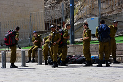 Security police, Jewish Quarter, Old City of Jerusalem (R-Gasman) Tags: travel securitypolice jewishquarter oldcityofjerusalem israel