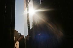 05880028 (kyrieelizabeth) Tags: newyork film 35mm olympusxa staybrokeshootfilm analog midtownmanhattan manhattan reflection buildings