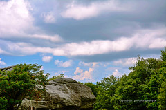 Sphinx Rock Storm Clouds (Photographybyjw) Tags: sphinx rock storm clouds smokey mountain scenic area north carolina photographybyjw rural country foliage color reflect weather