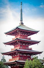 Saisho Pagoda (campra) Tags: japan hirosaki  aomori  saishoin temple buddhist pagoda