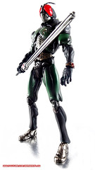 Kamen Rider Black RX Mobile Wallpaper 1 (BerserkFlow) Tags: sic superimaginativechogokin kamen rider masked bandai black rx toy action figure shfiguarts volume vol 16
