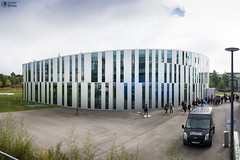 Welcome First Day October 2016 Hochschule der Medien Library Exterior Architecture Outdoors Modern German European University Education Building (HunterBliss) Tags: architecture building clouds day education educational ersteinfuhrung europe european event exterior first german germany greeting group hdm institution introduction learning library media modern outdoors outside overcast school semester students stuttgart tour unique university vaihingen weather welcome