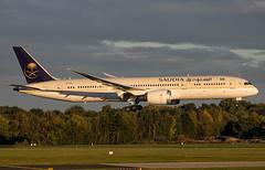 Saudi Arabian Airlines - Boeing 787-9 HZ-ARC @ Manchester Ringway (Shaun Grist) Tags: hzarc saudi saudiarabianairlines boeing 787 dreamliner shaungrist man egcc manchester manchesterringway manchesterairport airport aircraft aviation aeroplanes airline avgeek
