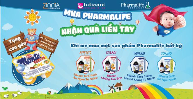 """Pharmalife - Bí quyết giúp Bé """" Nói KHÔNG"""" với ỐM, BỆNH lúc giao mùa"""