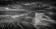 Beadnell Harbour (ianbrodie1) Tags: beadnell harbour sea seaside seascape outdoor nikon d750 haida 10 stop longexposure northumberland beach dunstanburghcastle castle waves blackwhite