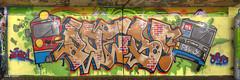 grafitti panorama (GdeB fotografeert) Tags: gdebfotografeert maart2016 onderdea8 grafittivrijplaats kunst kunstig kunstenaars zaandijk flickrexplored