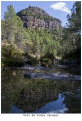Toll de Vidre (steelmancat) Tags: toll de vidre arnes ports tortosa beceite reflexes reflection landscape riu river