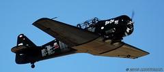Some 'Six! (arcticrail) Tags: reno reno2015 rara races racing race airplane aircraft airshow air action aviation airraces airplanes stead september nikon nevada field 2015 northamerican north american at6 t6 texan