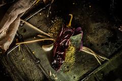 Bodegn III (Valo Alvarez) Tags: chili food foodart driedchili bodegon canon experimental explore practica comida stilllife sabor shadows light mexico mexican tabasco