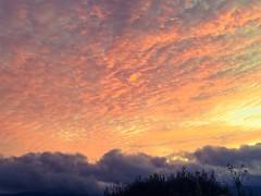 Tonight's Sunset (Starrgalla) Tags: skyscape landscape sky california mountainscoveredinclouds onthehorizon storm cloudy clouds settingsun tonightssunset