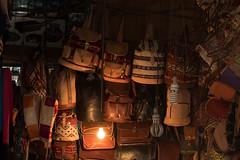 The Backpack Souk (prinzesslifu) Tags: 1tag djemaaelfna fujixt1 markt marokko medina oktober2016 souk morocco marrakesh leather