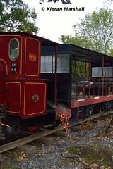 LM44 at Stradbally, 15/10/16 (hurricanemk1c) Tags: railways railway train trains ireland industrialrailway narrowgauge stradbally stradballywoodlandsrailway 2016 shedopening lm44 bórdnamóna irishturfboard steamloco andrewbarclay clonsatworks