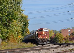 CP 650 (Michael Berry Railfan) Tags: cp canadianpacific cp650 fueltrain ethanoltrain train freighttrain adirondacksub lasalle lasalleyard montreal quebec ge generalelectric ac4400cw cp9822