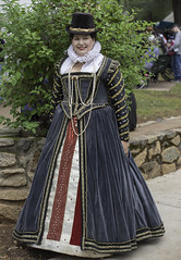 Lady of the Court 1 (dcnelson1898) Tags: folsom california outdoors renaissancefair event costume joust tudor medieval