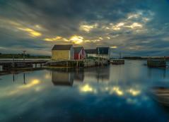 Blue Rocks, Nova Scotia (leomacdonald) Tags: novascotia canada bluerocks lunenburg martimes explore atlantic ocean coast fishing sheds wharf dock boats sonya7