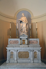 Altar of St. James the Lesser, Apostle and Martyr (Jim, the Photographer) Tags: catholic cathedral roman basilica baltimore assumption bvm