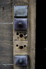 Edinburgh, Door Bells (theimagebusiness) Tags: life street old city travel tourism out scotland edinburgh day apartment capital citylife streetphotography photographers scottish disused ringer doorbell touristattraction tenement bellpull d700 edinburghtenement commonstair theimagebusiness photographersinscotland theimagebusinesscouk
