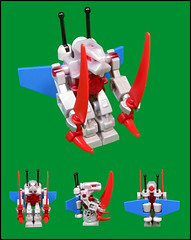 Scythe (Karf Oohlu) Tags: robot lego mecha droid moc exoforce