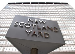 New Scotland Yard (paulgmccabe) Tags: city uk england building london westminster architecture design europe police lookingup metropolitan newscotlandyard