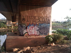 HATE>>OSL>>DSTS      Km 18 (''DSTS'' -ice-) Tags: osasco vandal hate bombs osl throwup vandalismo 2013 zonaoeste dsts destroygang destroyerthegang