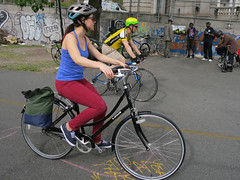 IMG_0694 (Planetgordon.com) Tags: bike manhattanbridge bikelane biketoworkday streetsblog
