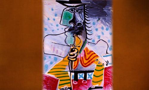 """Mosqueteros, perceptualización de Rembrandt Hamenzoon van Rijn (1640), deconstrucción minimalista de Henri Matisse (1903), transfiguración de Pablo Picasso (1969). • <a style=""""font-size:0.8em;"""" href=""""http://www.flickr.com/photos/30735181@N00/8746871885/"""" target=""""_blank"""">View on Flickr</a>"""