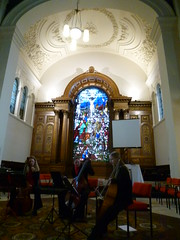St Anne's Church, Limehouse: tuning for a concert (John Steedman) Tags: uk greatbritain england london church unitedkingdom stannes limehouse grossbritannien     grandebretagne stanneschurch