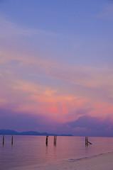 Sunrise Beach, Koh Lipe, Thailand (shin--k) Tags: sunset beach thailand island magic hour koh magichour lipe kohlipe lipeisland
