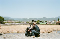 Arashiyama, ready for another big len?? (tinanthony) Tags: contax 200 g1 planar g45 colorplus