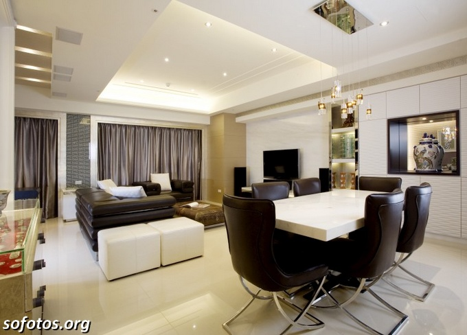 Salas de jantar decoradas (44)