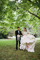stanley park engagement session (bo youm photography) Tags: park wedding party engagement dress stanley session bridal