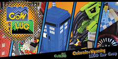 CoWLUG Banner for Denver Comic Con (Imagine) Tags: lego banner cthulhu tardis lug cowlug denvercomiccon