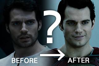 超人是如何刮鬍子的呢?