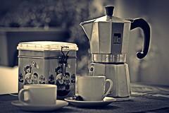 Perfect Coffee (DigiJack Photography) Tags: coffee caf monochrome photography nikon machine espresso macchina caff nikond3200 d3200 digijack