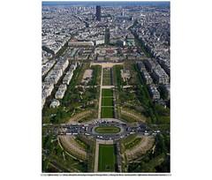 PARIS,  Marsfeld - Champ de Mars - jardin public - botanischer Garten