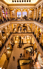 Magna Plaza Interior II / Amsterdam, the Netherlands (Niels Photography) Tags: plaza old holland building netherlands beautiful dutch amsterdam architecture canon shopping eos rebel office angle post interior interieur capital wide nederland center magna renovated sigma1020mm 500d t1i