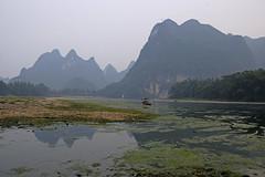 ab_SHS5960 (shamshahrin) Tags: china sunset people river landscape asian li fishing fisherman scenery asia photographer guilin culture lifestyle bamboo malaysia raft prc lijiang photojournalist imagemaker shamshahrin shamsudin