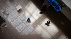 May I Ask You A Question (michael.veltman) Tags: chicago block 37 shopping mall looking down illinois