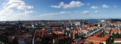 Copenhagen - View from the Church of Our Saviour's tower (Conti Francesco) Tags: danimarca denmark danmark copenaghen copenhagen kobenhavn 2016
