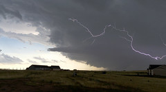 Inflow Tail & Lightning_072916 @ 4:14PM (northern_nights) Tags: severethunderstorm inflowjet inflowtail daylightning lightning clouds darkskies stormy storm cheyenne wyoming 100v10f