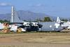 63-9816 EC-130E Commando Solo - Aerospace Maintenance and Regeneration Group (AMARG) - Davis-Monthan AFB, AZ (David Skeggs) Tags: aircraft aeroplane military usaf usairforce davismonthan davidskeggs amarg amarc masdc c130 hercules ec130e commandosolo