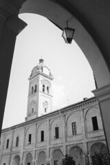 L'abbazia di Breme (sirio174 (anche su Lomography)) Tags: breme abbazia lomellina sanpietro abbaziadisanpietro viafrancigena italia